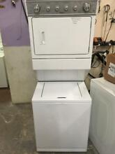 0003473 Whirlpool 27   Stackable Laundry Unit washer and dryer