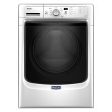 4 3 cu  ft  White Front Load Washing Machine with Steam Top Quality By Maytag