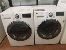24  Lg front load 2 3 cu ft washer electric ventless 4 2 cu ft dryer set 0003350