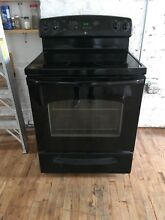 GE Electric Range Black