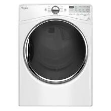 0003428 Whirlpool 7 4 cu  ft  120 Volt Stackable White Gas Vented Dryer wgd92hef