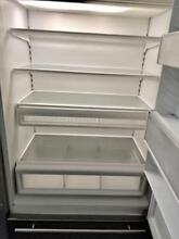 On sale 36  Subzero Built in Stainless Steel Refrigerator 0002970