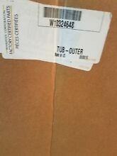 Brand New Whirlpool Washer Outer Tub Part   W10324648