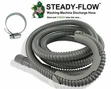 STEADY FLOW Washing Washer Parts   Accessories Machine Discharge Hose 12ft