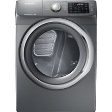 Samsung DV42H5200EP 7 5 Cu Ft Front Loading Electric Dryer   Gray