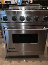 VIKING VDSC305 4BSS 30  Professional Dual Fuel Range Oven 4 Burner Self Clean