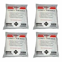 60 Whirlpool 4318922 15 Inch Plastic Trash Compactor Bags