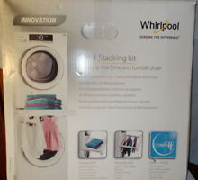 Whirlpool SKS200 Stacking Kit for Washer   Dryer with Shelf   Hanging Rack