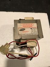 Maytag JennAir Microwave Oven High Voltage Transformer W10197612 W10250839