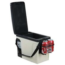 Smad 12 Volts Refrigerator Low Noise Cigarette Cooler for Camping 11 Cans