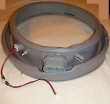 Samsung Front Load Washer Door Seal Boot With Light part   DC64 01570A