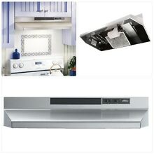Ventless Range Hood Under Cabinet Recirculating Non Ducted 30inch Gas Stove Vent