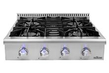 30 Inch Rangetop 4 burners Range Cooktop stove Stainless Steel Thor Kitchen