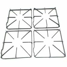 SRT Appliance Parts WB31K10012  Gas Range Burner Grate 4 Pack replaces GE  H