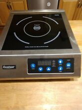 For parts Only  Centaur AIN 10 Induction Counter Cook Top 1800W Commercial
