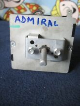 ADMIRAL Electric DRYER Timer Part     014 66517  37001240 and KNOB   OEM PART