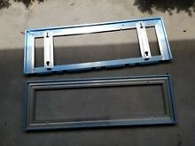 Sub Zero Grill  Frame  Stainless Steel 2 pieces 28 1 2  x 10 1 8