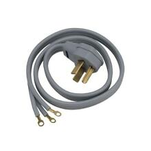 2 Pack  6 ft  3 Prong 30 Amp Dryer Cord