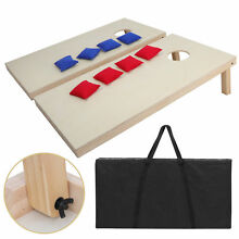 100  SOLID WOOD Wooden Bean Bag Toss Game Set Easily Customized