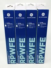 GE RPWFE Refrigerator Genuine Water Filter  4 Pack  Sealed Free Shipping