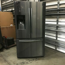 Samsung RF263TEAESG 24 6CF Refrigerator French Door Black Stainless Steel