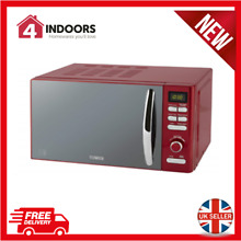 Tower Inifinity T24019R 800W 20L Digital Solo Microwave in Red   Brand New