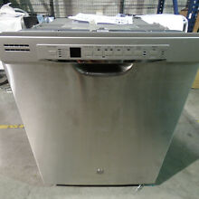 GE GDF630PSMSS 24  Dishwasher 50dBA with Hard Food Disposer Stainless Steel