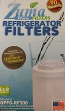 4 Pack of Zuma Water Filter Replacement For Kenmore   GE   Hotpoint New Sealed