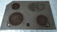 KitchenAid Superba Range Glass Cooktop  Stove Model KERC607GWH1