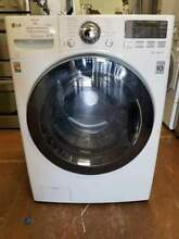 0003702 27 LG steam  front load washer