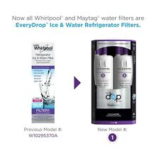 EveryDrop   EDR1RXD1 Replace W10295370A Whirlpool Water Filter 1  2 Pack