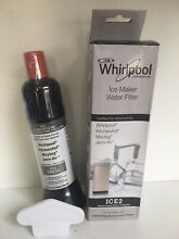 Genuine OEM Whirlpool Maytag Ice Maker ICE2 Replacement Water Filter F2WC9I1