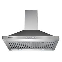 Range Hoods Geekchef 30  Kitchen Wall Mount Stainless Steel Touch Control Stove