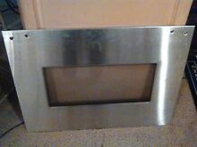 Whirlpool Range Oven Door Glass and Stainless Panel 28 X 20 5 8 ins 129 95