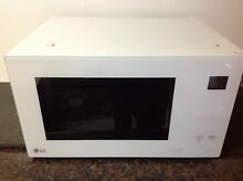 LG LMC1575SW NeoChef Countertop Microwave   White 1 5 cu  ft    Used