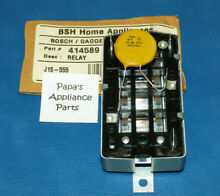 GENUINE OEM THERMADOR OVEN OR RANGE HOT WIRE RELAY 414589  00414589