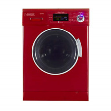 All in one 1200 RPM New Version Compact Convertible Combo Washer Dryer with Easy