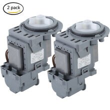 2pcs Whirlpool W10130913 Water Drain Pump Motor Washer New Free Shipping