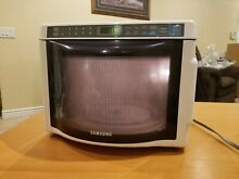 SAMSUNG MD800WC MICROWAVE OVEN MINI DORM RV SMALL KITCHEN MAN CAVE  NICE CLEAN