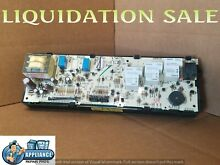 WB27T10219 GE RANGE OVEN CONTROL BOARD WB27T10069 WB27T10070 WB27T10073