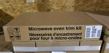 NEW OEM CX1530SSSS GE CAFE MICROWAVE TRIM KIT 30  WIDE FACTORY PART FREE SHIP