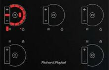 Fisher   Paykel CI365DTB1 36  Induction Cooktops