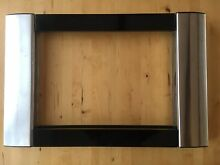 Sharp Insight Pro AX 12 Built In Trim for Microwave   Stainless And Black
