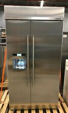 NEW KitchenAid KBDS612ESS Side by Side 42  Refrigerator Stainless 25 2 cu ft