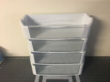 GE REFRIGERATOR DOOR BINS  set of 4  P  WR71X10973  WR71X10605