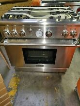 Thermador Pro Grand PRD364EDG 36 Inch Pro Style Dual Fuel Range 5 7 cu  ft  Thi