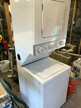 White Kenmore Laundry Center Washer Dryer Stacked Local Pick UP Only