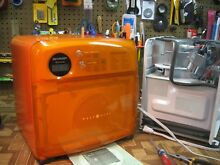 ORANGE Sharp HALF PINT MICROWAVE OVEN 100  PROFESSIONALLY RECONDITIONED