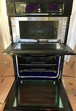 KitchenAid 27  Built in Convection Combination Microwave Wall Oven Combo Black
