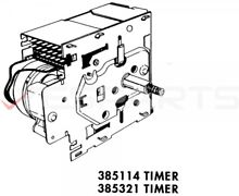 WHIRLPOOL WASHER TIMER PART  8182202